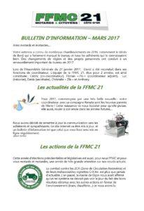Bulletin d'infos mars 2017
